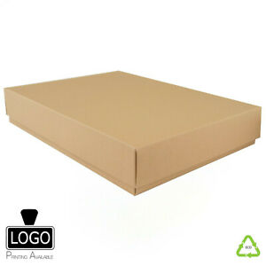 Eco Friendly Kraft Self Assembly Flat Pack Gift Boxes (A3, A4, A5, A6)