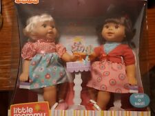 Little Mommy Sweet As Us Dolls Brand New in Package 2 dolls, outfits and shoes