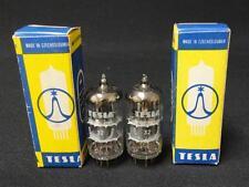 2ea) TESLA E83CC / 12ax7 / ecc83 tubes - NOS - Matched pair