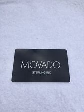 - Blank - Card Only Open Movado Watches Limited Warrenty Card