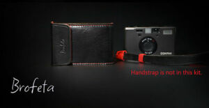 Brofeta CONTAX T3 camera leather bag case  Italy leather Handmade