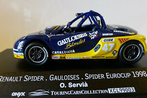 1/43 Onyx Vitesse(Portugal). Renault Spider Trophy Eurocup 1998. Exc and boxed.