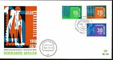 Dutch Antilles - 1973 Child welfare Mi. 274-76 clean unaddressed FDC