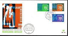 Dutch Antilles - 1973 Child welfare Mi. 274-76 clean unaddressed FDC