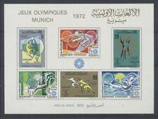 JO MUNICH Tunisie bloc de 1972
