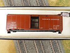 HO SCALE KAR-LINE BAR BANGOR & AROOSTOOK 51245 40' BOX CAR KIT NEW OLD STOCK