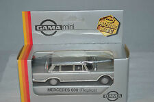 GAMA 1180 Mercedes 600 1:45 silber perfect mint in box superb