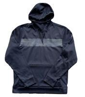 Nike Air Jordan 23 Alpha Men's Therma-Fit Pullover Hoodie Size Medium Black