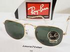 RayBan BL W0978 USA Metal Arista Gold Oro occhiali sole sunglasses Original New