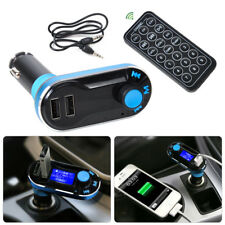 Car Wireless Fm Transmitter Modulator Music Mp3 Player Remote Usb Charger