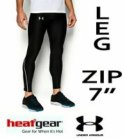 Under Armour HeatGear CoolSwitch Mens Compression Run Tights Black Size 2XL XXL