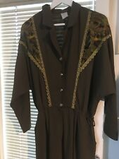Jumpsuit Overall Khaki True Vintage 80er Gr.M/S