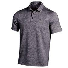 Under Armour Elevated Heather Golf Shirt M - Black