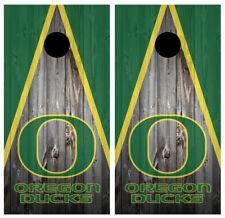 Oregon Ducks Cornhole Board Wraps Skins Vinyl Laminated High Quality!