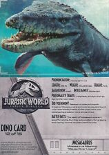 2018 JURASSIC WORLD FALLEN KINGDOM TRADING CARD SINGLE DINO CARD #12