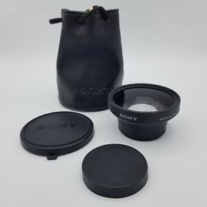 SONY VCL-0752H Wide Conversion Lens x0.7 with Bag