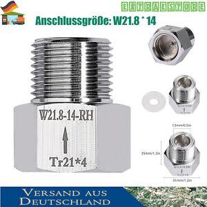 Sodastream Adapter zum CO2-Flaschengewinde Aquarium Druckinderer Gewinde W 21.8
