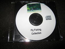 Fly Fishing Fish Tying Casting Rod Angling Angler Fisherman 55 Books on CD