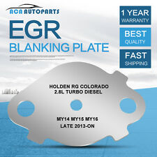 EGR Blanking Hole Plate Holden Colorado RG MY14 MY15 MY16 2.8L TD Late 2013-ON
