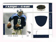 2003 Leaf Certified Materials  Steve McNair 20/50   Game Worn Jersey  Titans