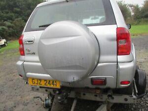 Toyota RAV4 MK2 spare wheel cover 2000 - 2005 silver XA20