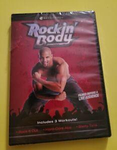 BEACHBODY Shaun T Rockin Body Exercise Dance DVD 3 Workouts Brand New