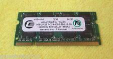 Centron 1GB 2Rx8 PC2-6400 DDR2 CL6 Laptop Memory JIYT48UFA