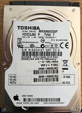 Apple OEM 500gb SATA 2.5-inch Internal Hard Drive - Toshiba MK506GSXF