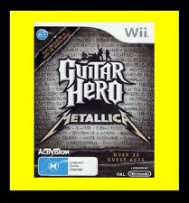 Guitar Hero: Metallica Nintendo Wii PAL Brand New