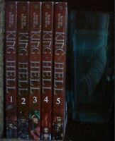 King of Hell 1-5 Lot of 5 Shonen Manga Manhwa, English, 13+, Ra In-Soo