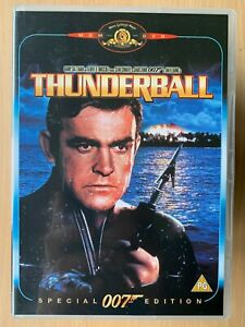 Thunderball DVD 1965 James Bond 007 w/ Sean Connery Special Edition