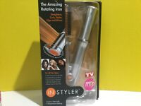 In Styler TheAmazing Rottaing Iron For Big Curls Adds Volume To Thin Flat Hair