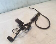 Aprilia ETV 1000 Caponord Right Rearset Brake Footpeg Bracket & Master Cylinder