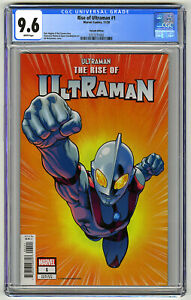 RISE OF ULTRAMAN #1 CGC 9.6 WHITE Pgs 1/50 RETAILERS INCENTIVE ED McGUINESS 2020