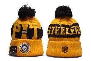 Pittsburgh Steelers Cap Hat Football NFL New Era Beanie