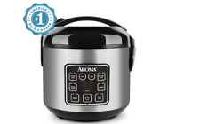 Aroma Housewares 2-8-Cups (Cooked)Digital Cool-Touch Rice Grain Cooker and Food!