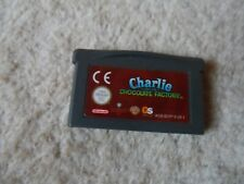 Charlie And The Chocolate Factory Nintendo Game Boy Advance SP Warner Brothers