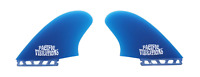 PACIFIC VIBRATIONS FUTURES SURFBOARD Channel Islands Keel TWIN FIN Template SET