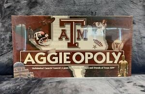 AggieOpoly Monopoly Board Game Texas A&M Brand NEW Sealed