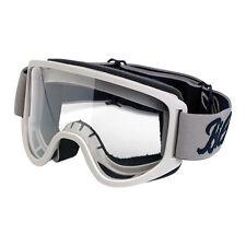 Biltwell Moto Goggle 2.0, Moto Occhiali, Titanium, per jethelme/anti zoccolo!
