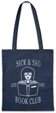 Sick & Sad Book Club Stofftasche Einkaufstasche Daria Fun Morgendorffer Lanes