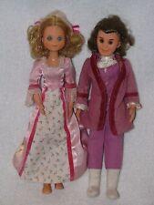 Mattel Sunshine Family Father & Mother Dolls 1973
