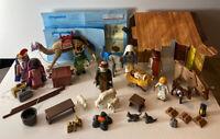 Playmobil 3996 Nativity Scene 3997 Three Wise Men Jesus Christmas Incomplete