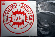 BOOM POP FEST LJUBLJANA '74 GRUPA 220 HOBO S VREMENA NA VREME V/A 2LP N/MINT
