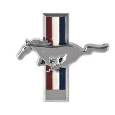 1991-1993 Ford Mustang Dash Emblem Badge Chrome Pony & Tri-Bar Running Horse