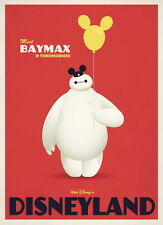 "084 Big Hero 6 - 2014 American Hot Movie Film 14""x19"" Poster"