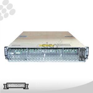 DELL POWEREDGE C6220 SFF 4 NODE 8x 10 CORE E5-2680V2 2.8GHz 32GB RAM RAIL NO HDD