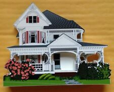 1999 SHELIA'S BARBER'S QUEEN ANNE HOUSE, LANCASTER, NH, SIGNED FIGURINE