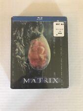 THE MATRIX-10th Anniversary-Limited Edition SteelBook (Blu-ray) SEALED BRAND NEW
