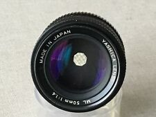 Contax Fit - Yashica 50mm F1.4 FAST M/F Prime Lens - Superb Condition